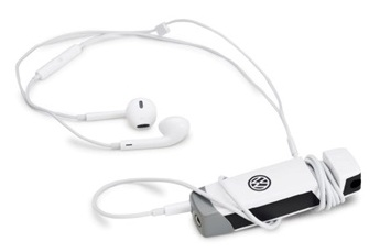 Аудио мультитул Volkswagen Logo Jam Audio Multitool, Black/White