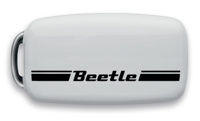 Накладка на ключ Volkswagen Beetle Plastic Key Cover, White