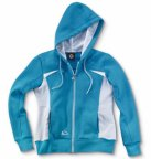 Женская толстовка Smart Women's Sweat Jacket, Turquoise / White