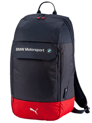 Рюкзак BMW Motorsport Backpack, Team Blue-High Risk Red