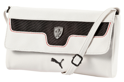 Сумка Ferrari LS Small Satchel, White