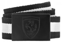 Ремень унисекс Ferrari Fanwear Belt, Black-White