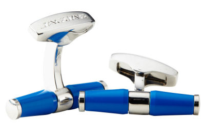 Запонки Jaguar Bar Cufflinks Blue