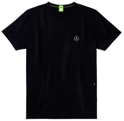 Мужская футболка Mercedes Men's T-shirt, Black, by Hugo Boss