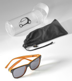 Солнцезащитные очки Smart Unisex Sunglasses, Smart Passion, black / orange, артикул B67993098