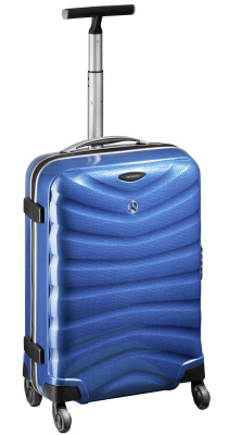 Чемодан Mercedes-Benz Suitcase, Spinner 75, South Sea Blue, Curv