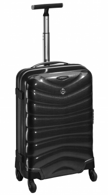 Чемодан Mercedes-Benz Suitcase, Spinner 75 charcoal, Curv