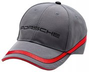 Бейсболка Porsche Baseball Cap, Grey - Racing Collection