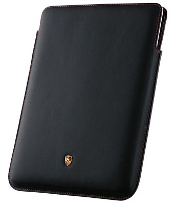 Кожаный чехол для iPad 2,3 Porsche Case for iPad 2 and 3, Black