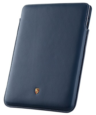 Кожаный чехол для iPad 2,3 Porsche Case for iPad 2 and 3, Yachting blue