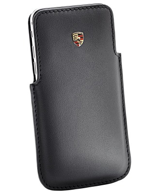 Кожаный чехол Porsche для iPhone 6 Plus / Samsung S5 Case