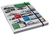 Записная книжка Porsche Notebook DIN A4, RS 2.7 Collection