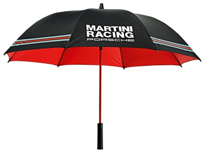 Зонт трость Porsche Umbrella Martini Racing, Black-Red