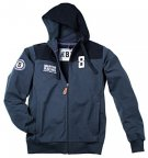 Мужская толстовка Porsche Men's Sweat Jacket Martini Racing, Dark Blue