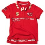 Детское поло Porsche Children's Polo Shirt, Red