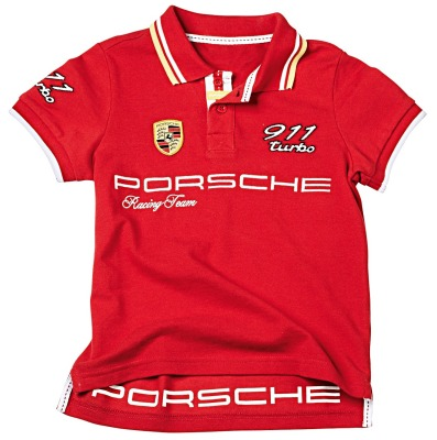 Детское поло Porsche Children's Polo Shirt, Red 2017