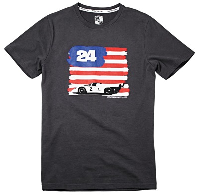 Футболка унисекс Porsche Unisex Fan T-Shirt, Flag, Essential Collection
