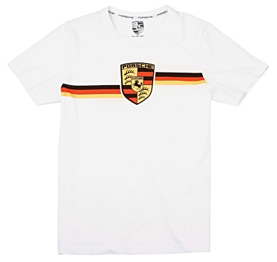 Футболка унисекс Porsche Unisex Collector's T-shirt Edition No. 1 – Porsche Crest 2017