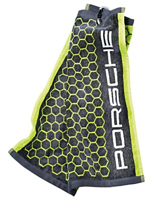Полотенце для гольфа Porsche Golf Towel, Grey-Green