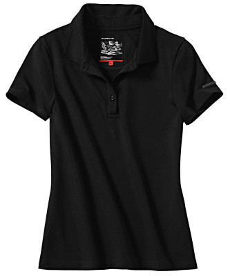 Женское поло Porsche Women's Polo Shirt, 911 Collection, Black