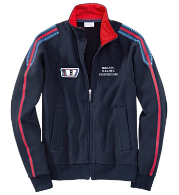 Мужская куртка Porsche Martini Men's sweat jacket Dark Blue