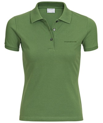 Женское поло Porsche Women's polo shirt Cactus Green