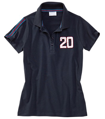 Женское поло Porsche Women's Polo Shirt Blue
