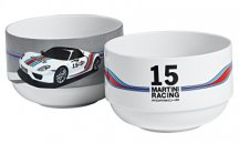 Набор из двух чаш Porsche Bowls set of 2 – Martini Racing
