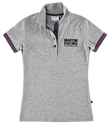 Женское поло Porsche Women's Polo Shirt – Martini Racing