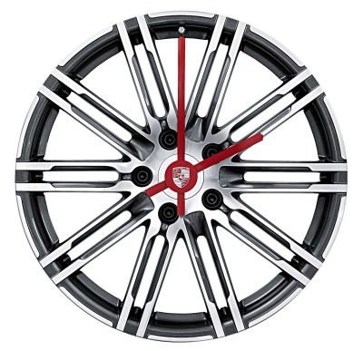Настенные часы Porsche Porsche 911 Turbo wheel rim clock