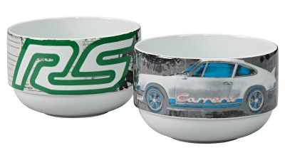 Набор из двух чаш Porsche Bowls, set of two - RS 2.7 Collection