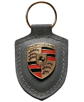 Брелок для ключей с гербом Porsche Crest Keyring, Grey