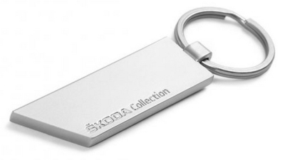 Металлический брелок Skoda Collection Metall Keyring Motorsport