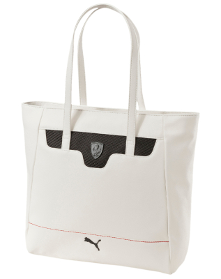 Женская сумка Ferrari LS Shopper Ladie's Handbag, White