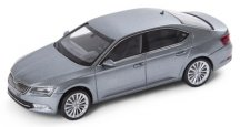 Модель автомобиля Skoda Superb III, 1:43 scale, Metal Grey