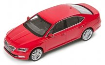 Модель автомобиля Skoda Superb III, 1:43 scale, Corrida Red