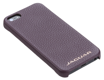 Кожаная крышка для iPhone 5 Jaguar Leather Case, Bordeaux