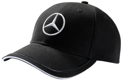 Мужская бейсболка Mercedes Men's Cap Black, 100% cotton
