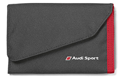 Кошелек Audi Sport Wallet, Black/Red