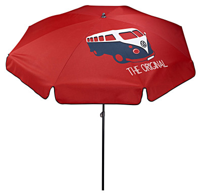 Пляжный зонт Volkswagen Sun Umbrella, T1 Bulli, Red
