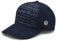 Бейсболка Volkswagen Commercial Vehicles Baseball Cap, Blue