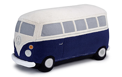 Мягкая игрушка Volkswagen T1 Bulli Soft Toy, Beige/Dark Blue
