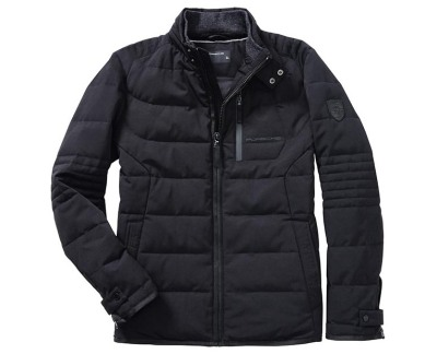 Мужская кожаная куртка Porsche Men's Quilted Jacket - Classic Collection