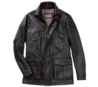 Мужская кожаная куртка Porsche Men's Leather Jacket - Classic Collection