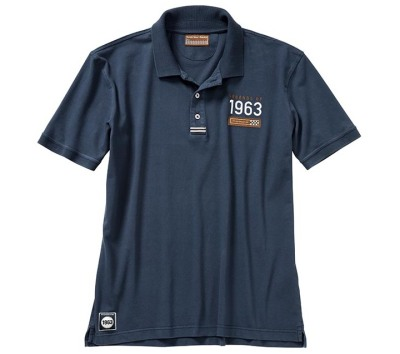 Мужское поло Porsche Men's polo shirt – Classic collection, Dark Blue