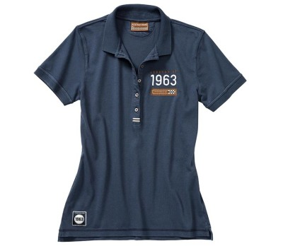 Женское поло Porsche Women's polo shirt – Classic collection, Dark Blue