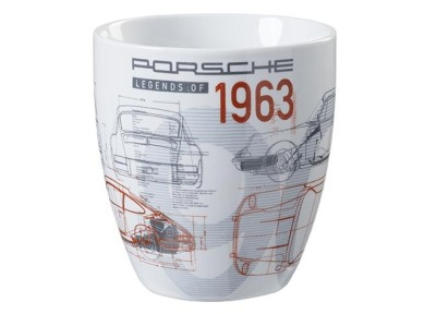 Коллекционная кружка Porsche Collector's cup – no. 18 – Classic – limited edition