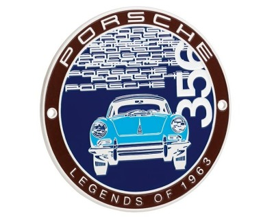 Эмблема на решетку радиатора Porsche Grille badge – Classic – limited edition