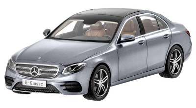 Модель Mercedes-Benz E-Class, AMG Line, Designo Selenite Grey Magno, 1:18 Scale