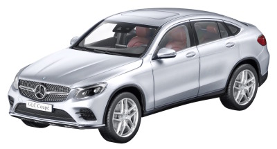 Модель Mercedes-Benz GLC Coupé, Diamond Silver, 1:18 Scale